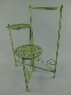 Driedelig tafel groen