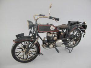 Motor antieke zwart blik