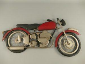 Motor wanddecoratie