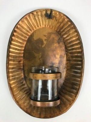 Wandkandelaar gold