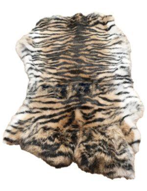 Konijnenvacht tijgerprint
