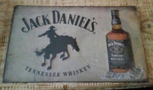 Reclame bord     Jack Daniel's