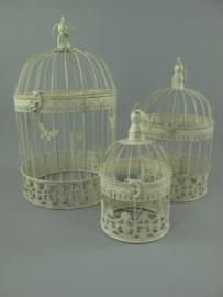 Vogelkooi set van drie