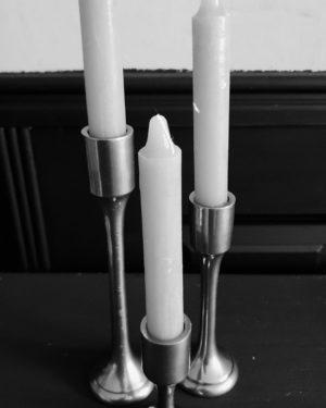 Kaarsenkandelaar nikkel