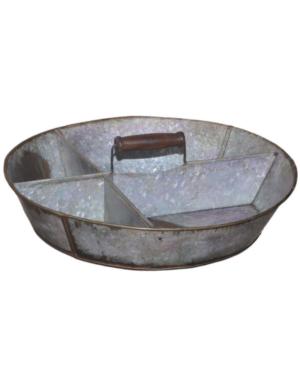 Plantenschaal  schaal van zink tray