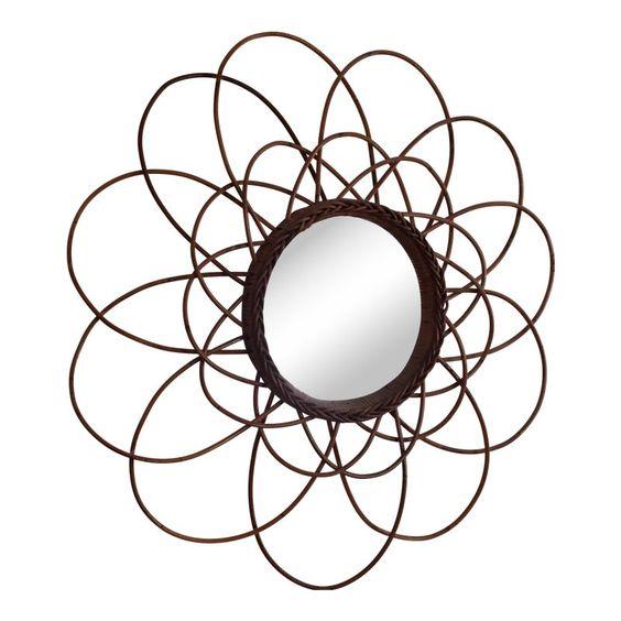 Spiegel metaal zwart