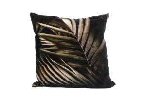 Kussen 'Palmblad bruin van Manen