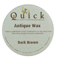 Antiek wax donker bruin
