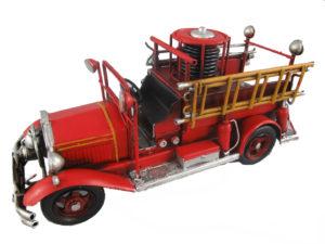 Metalen brandweerauto oldtimer