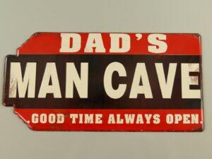 Wandbord Dad's Man Cave
