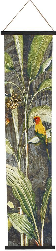 Wanddecoratie Parrot textiel vogel