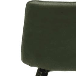 Eetkamerstoel Lucy army green (gaan per 4 stuks)
